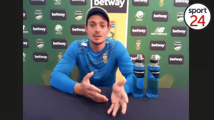 De Kock says living in a bio-secure bubble is 'unsettling' as Proteas look forward to Pakistan tour