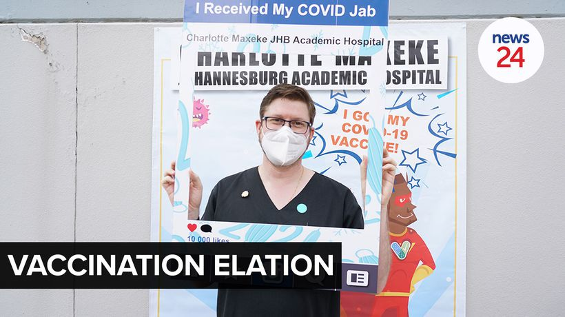 WATCH | Doctor who treated Gauteng's patient zero gets Covid-19 jab