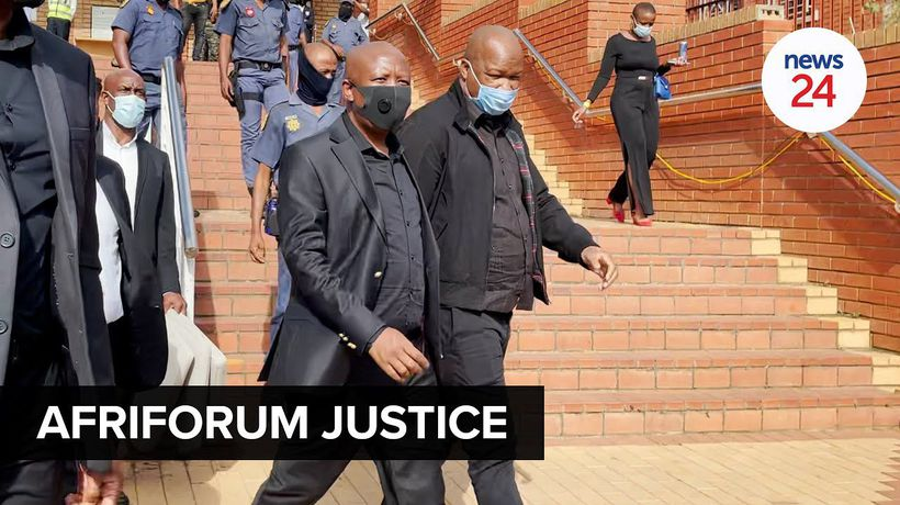 WATCH | Malema, Ndlozi assault trial: 'We believe justice will prevail' says AfriForum