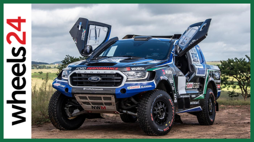 Ford Castrol team unveils all-new FIA-class Ranger to challenge for 2021 SA Cross Country Series