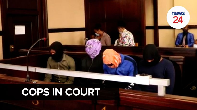 WATCH | Police officers accused of killing Mthokozisi Ntumba appear in Johannesburg court.
