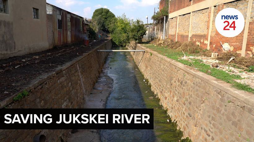 WATCH | World Water Day: A Joburg woman is on a mission to save the polluted Jukskei River