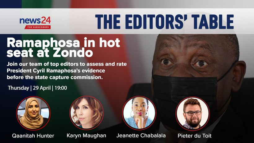 WATCH | The Editors' Table: Ramaphosa's 'vague' Zondo Commission testimony unpacked