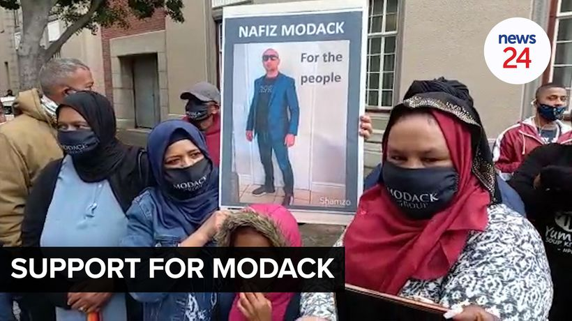 WATCH | Modack appears in heavily guarded Cape Town Magistrate's Court
