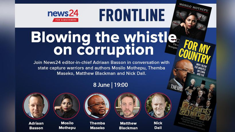 WATCH | Frontline: Join SA's state capture warriors to discuss blowing the whistle on corruption