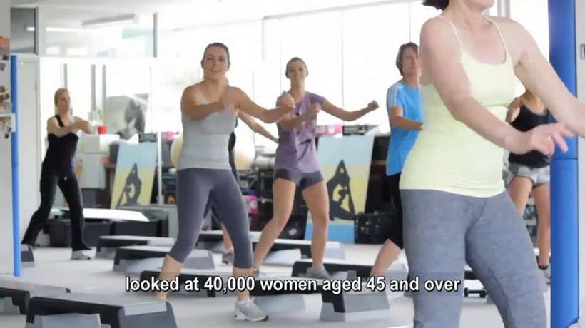 Exercise helps prevent strokes in women