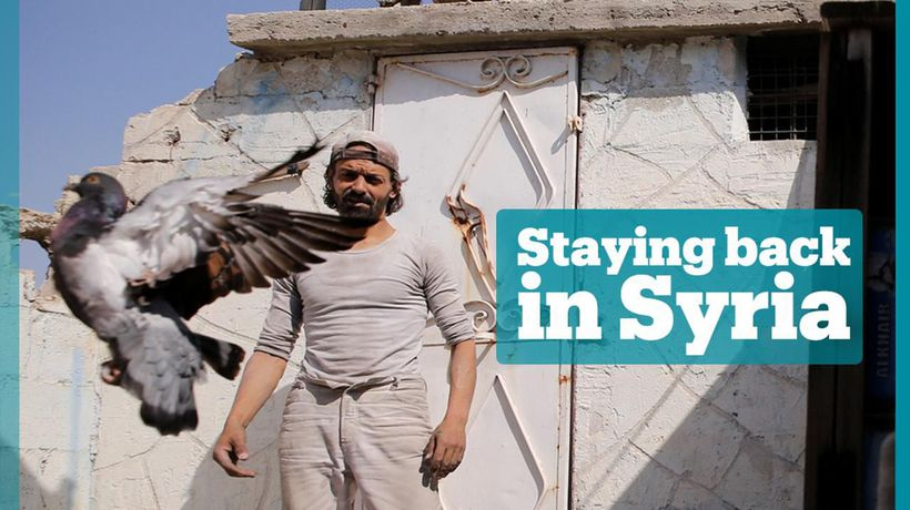 Man holds out in family home through years of war in Syria