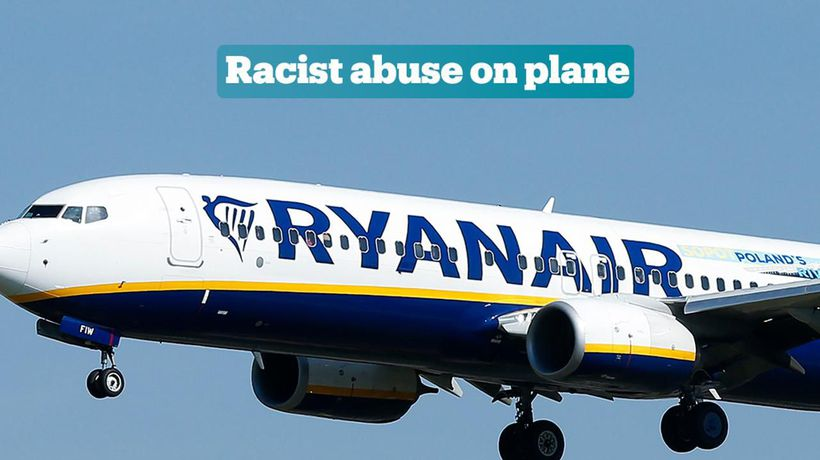Ryanair faces backlash for failing to remove racist passenger