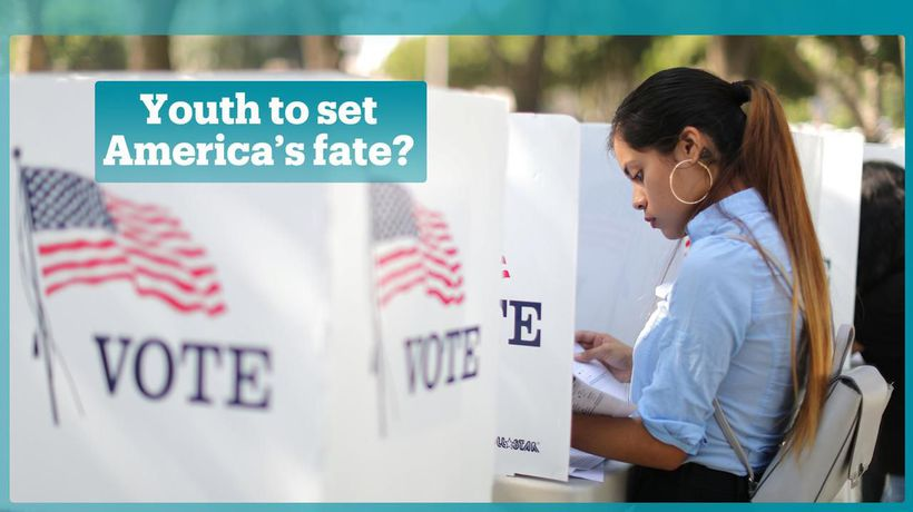 Who are youth in the US voting for in midterm elections?