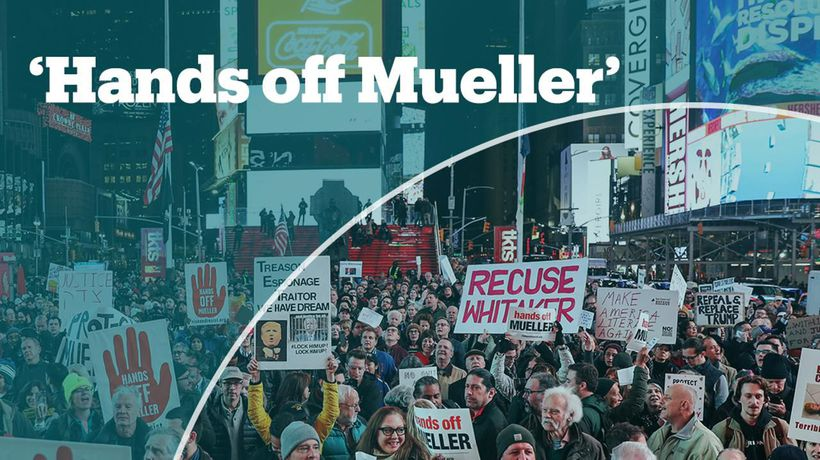 Thousands of Americans rally in support of Mueller investigation