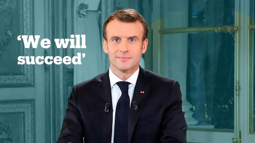 President Macron offers concession amid Yellow Vest protests