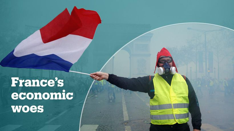 France's economy and the Yellow Vest protesters