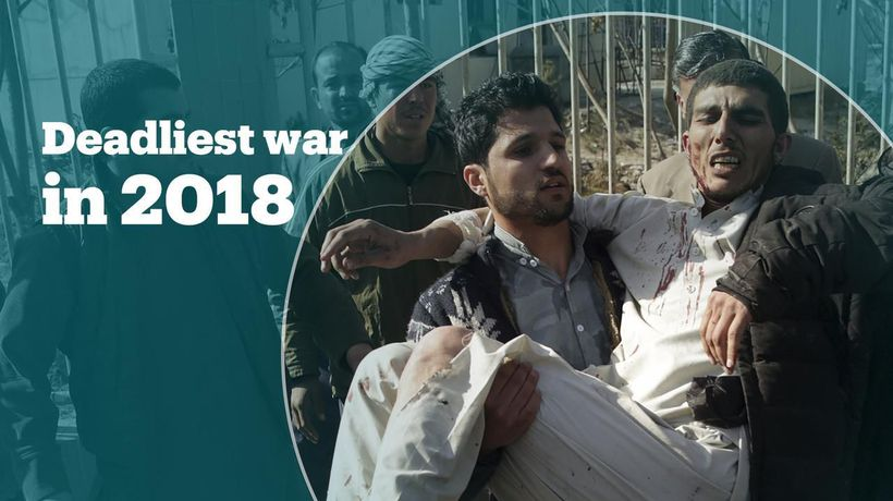 More killed in Afghanistan than Yemen and Syria in 2018
