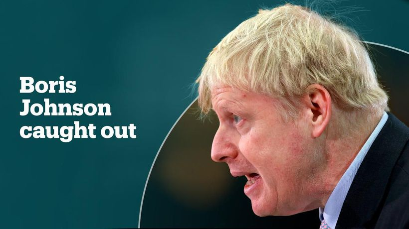 Boris Johnson caught out over lies about Turkey