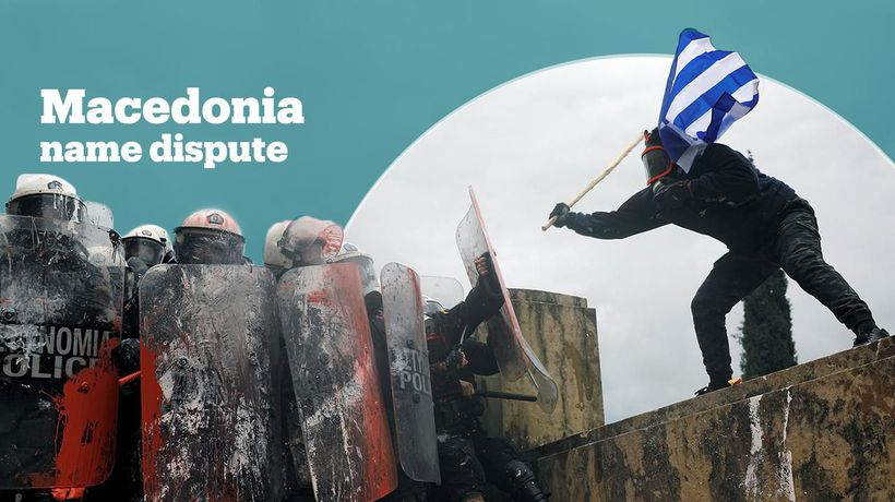 Greeks protest against Macedonia name deal