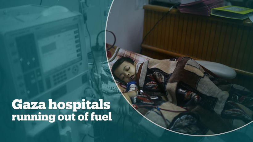 Hospitals in Gaza hit by severe fuel shortage