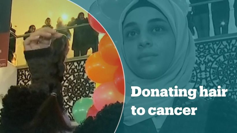 Jordanian initiative provides human-hair wigs to children with cancer