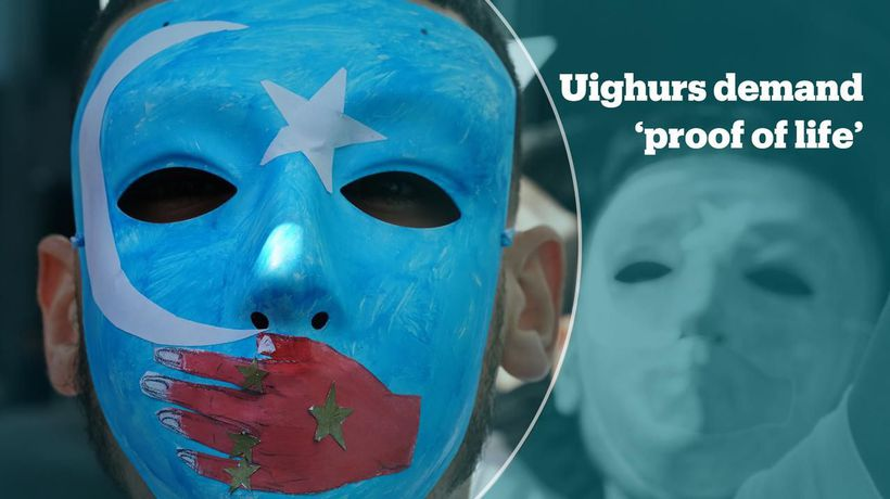 Ethnic Uighurs campaign to press China for 'proof of life' videos
