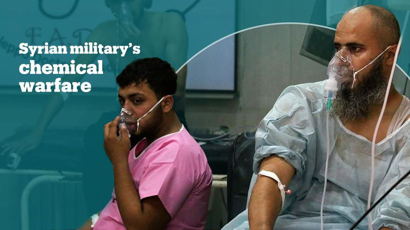 Syrian military carried out more than 300 chemical attacks: report