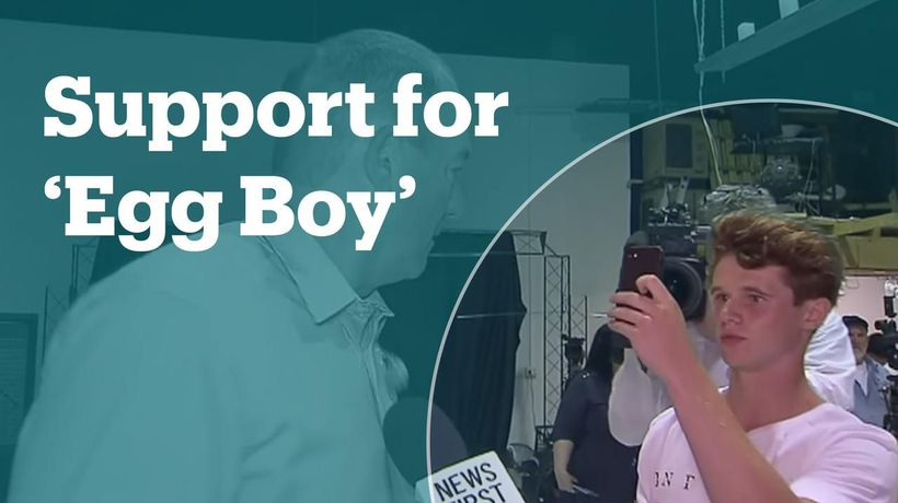 Musicians around the world are offering free concert tickets to 'Egg Boy'