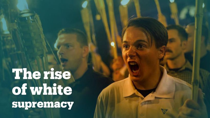 The rise of white supremacy