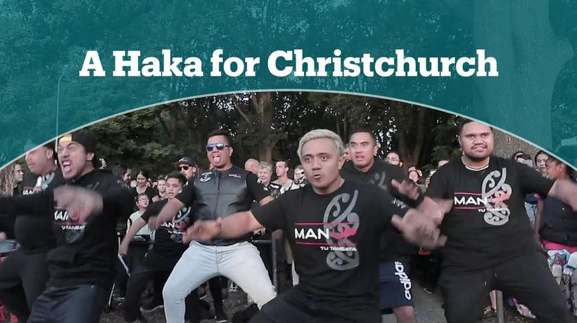 Haka for the victims of the terror attacks
