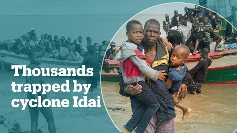 550 killed, thousands still trapped after Cyclone Idai