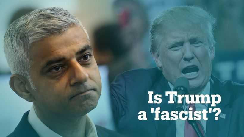 London Mayor compares US President Trump to 20th-century fascists