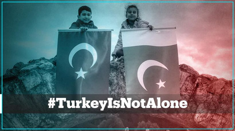 Here's why #TurkeyIsNotAlone is trending