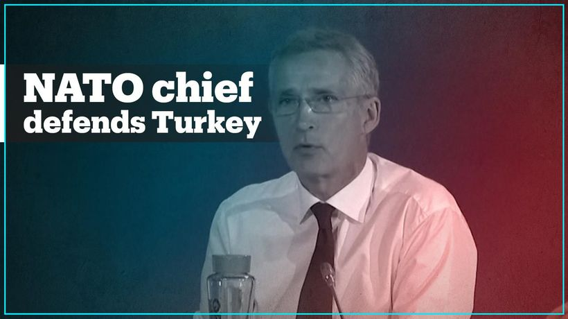 Turkey has legitimate security concerns - NATO chief