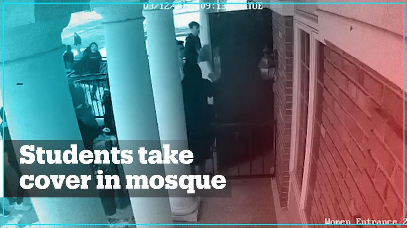 Muslim American student shelters schoolmates in mosque after shooting