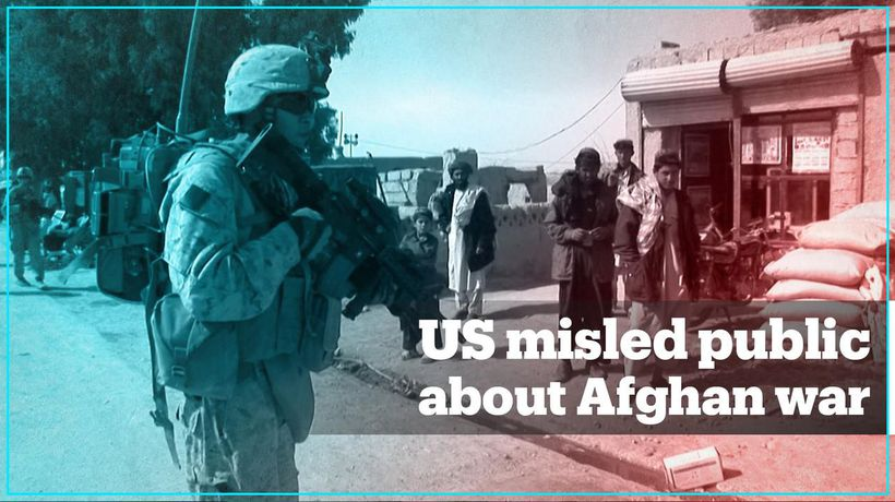 US government failed to tell the truth about the war in Afghanistan - report