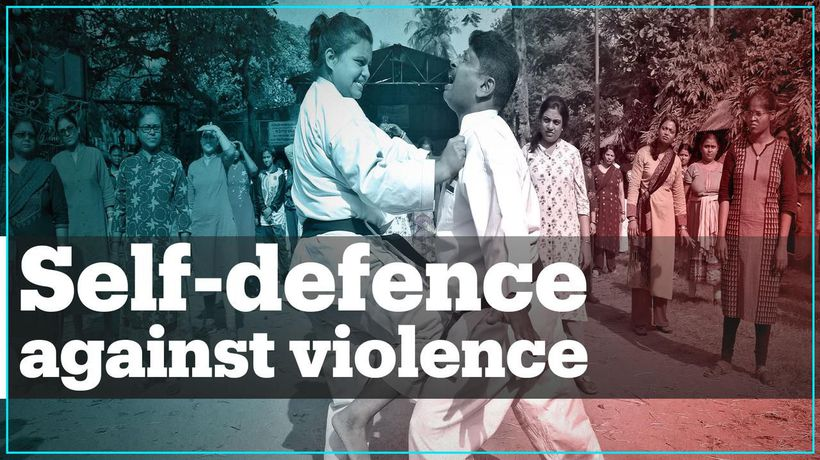 Indian women learn self-defence to protect themselves against rapists
