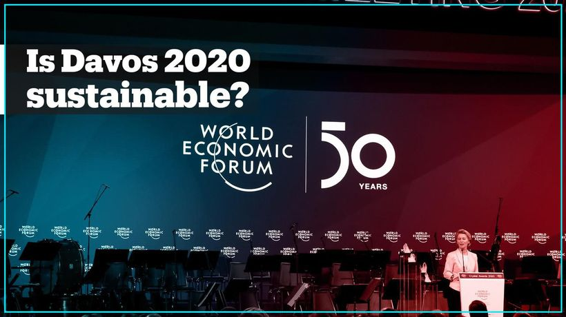 How 'sustainable' is Davos 2020?