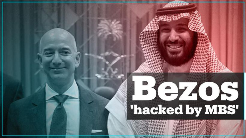 Jeff Bezos' phone hacked by Saudi crown prince - report