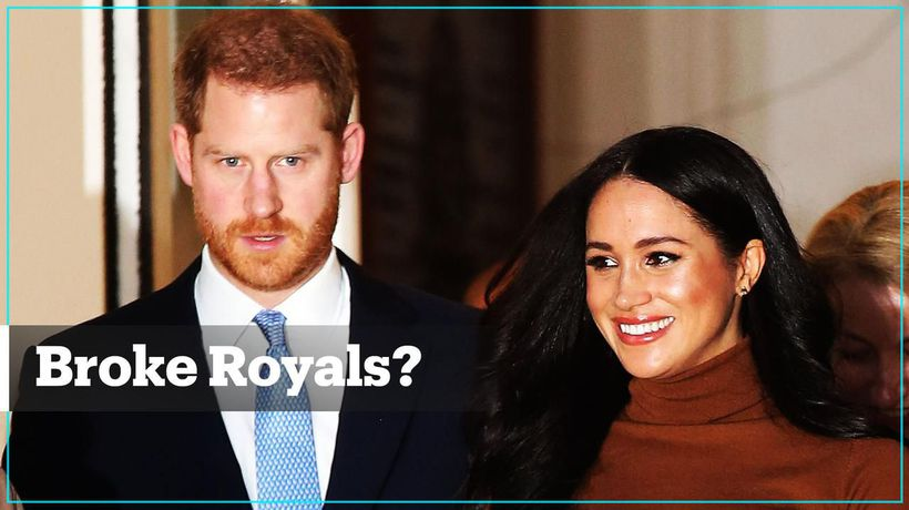 Are Meghan and Harry going to be broke?