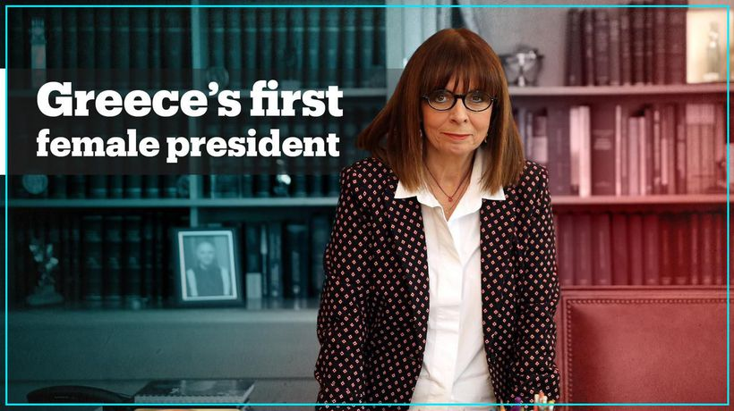 Greece elects its first female president