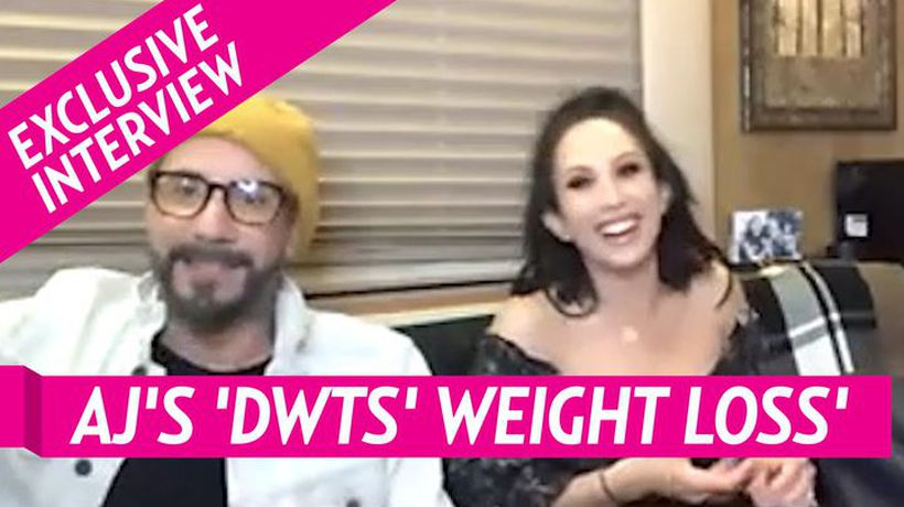 Backstreet Boys' AJ Mclean Reveals How Much Weight He's Lost Since Joining 'Dancing With The Stars'