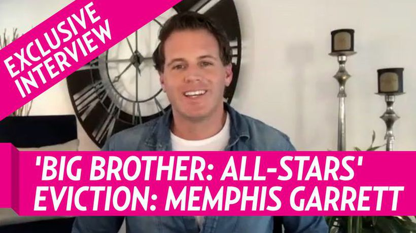 Big Brother: All-Stars' Memphis Garrett Talks Eviction, What He Learned From Dan