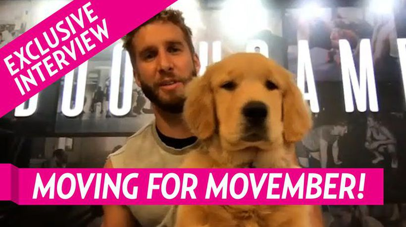 Shawn Booth Encourages People To Workout And Get Moving For Movember