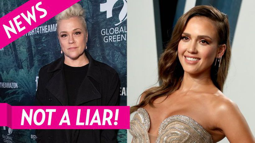 Beverly Hills, 90210's Christine Elise Apologizes For Saying Jessica Alba Lied About No Eye Contact