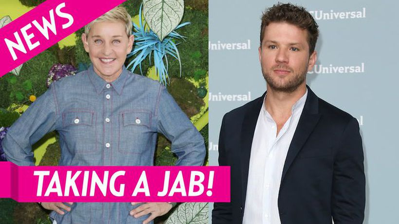 Ryan Phillippe Takes A Jab At Ellen Degeneres After Rumors She Is Mean