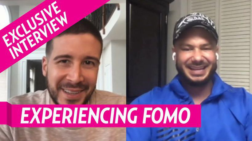 Vinny And Pauly D Reveal Nicole 'Snooki' Polizzi Is Experiencing Fomo Not Filming 'Jersey Shore'