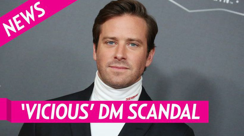 Armie Hammer Breaks Silence On 'Vicious' Dm Scandal After Exiting J.lo Movie