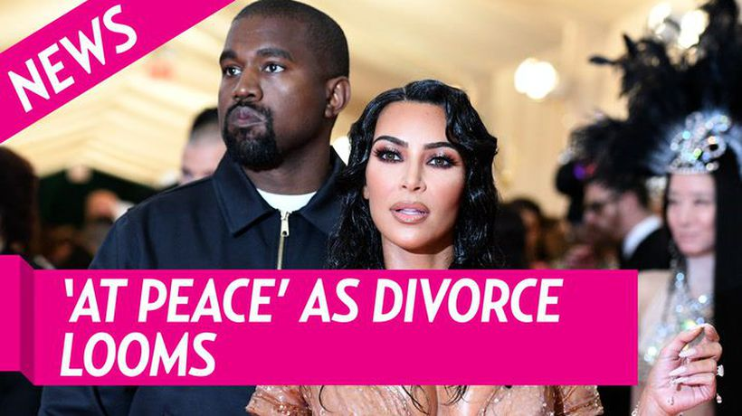 Kim Kardashian Is 'At Peace' With Where Her 'Life Is Headed' As Kanye Divorce Looms