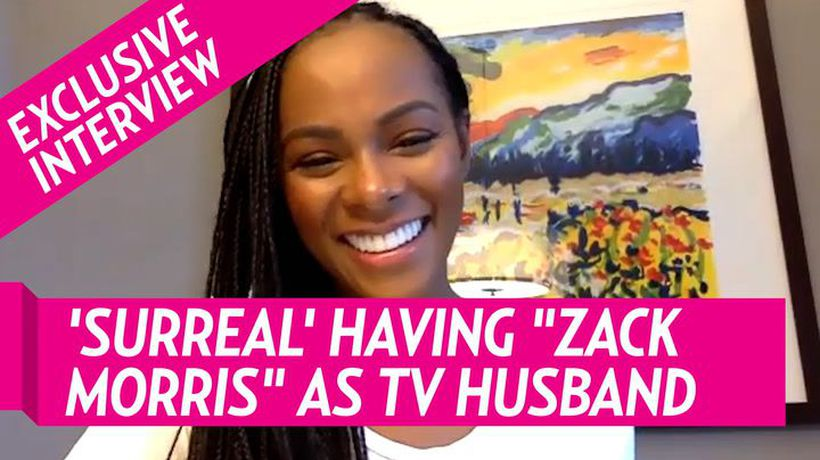 Tika Sumpter Says It's Surreal Working With Crush -Zack Morris- Aka Mark-paull Gossellar On 'Mixed-i