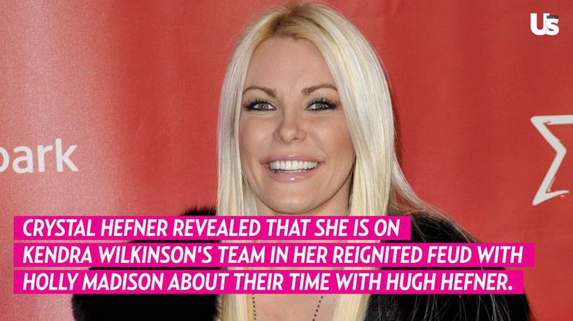 Crystal Hefner Sides With Kendra Wilkinson in Holly Madison Feud Over Their Time with Hugh Hefner