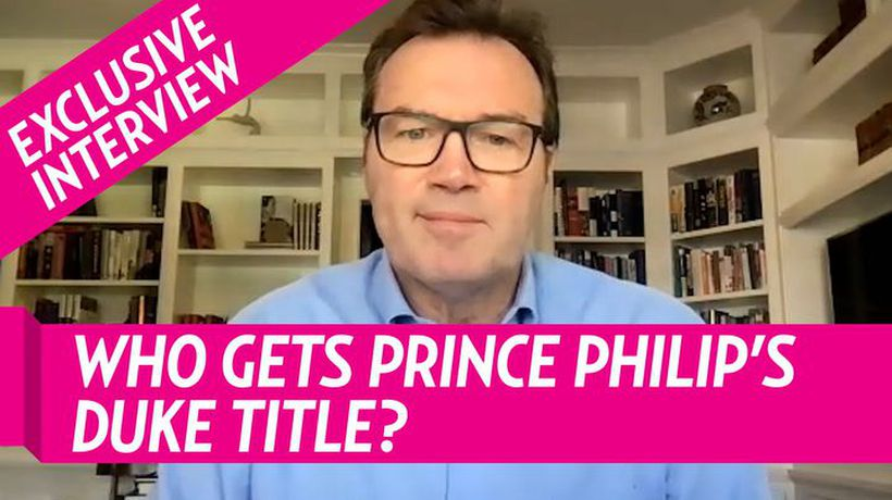 Andrew Morton Reveals Who Gets Prince Philips' Duke Of Edinburgh Title
