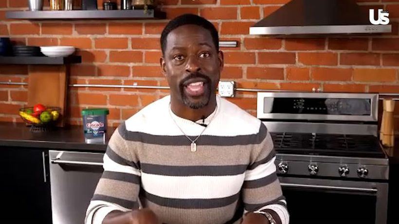 Sterling K. Brown Describes Meeting Mandy Moore's Son Gus - She's 'The Best Mom'