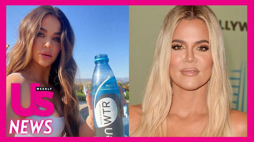 Khloe Kardashian Responds to Criticism About Her Plastic Water Bottle Comments